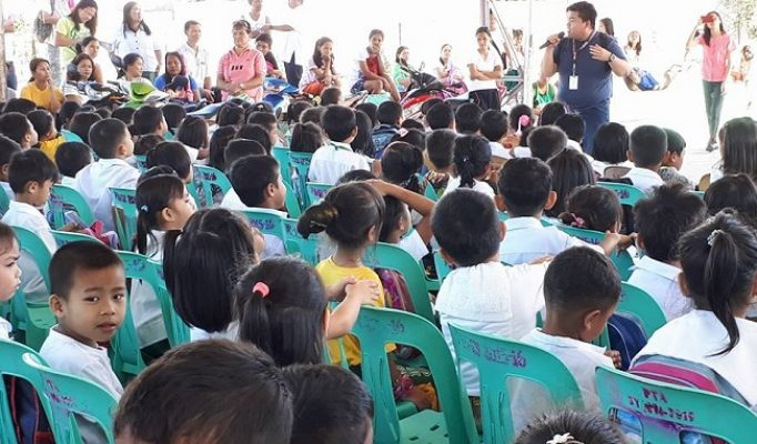Proper Handwashing and Germicidal Soap Distribution to Kinder students of Bagong Buhay G Elementary School 2